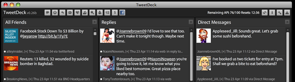 TweetDeck (on AIR)